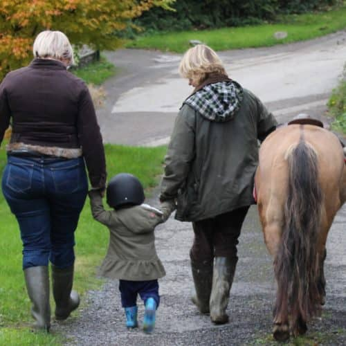 Children can enjoy Pony Rides Bampfield Farm Holiday Cottages, North Devon.