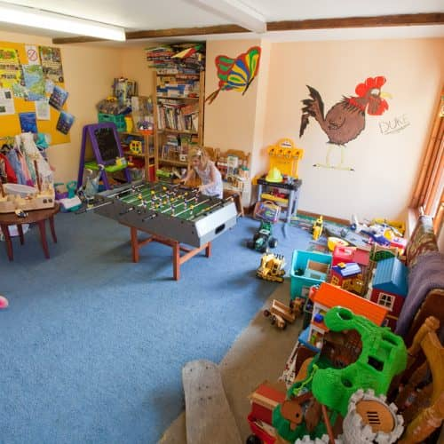 Indoor Playroom at Bampfield Farm