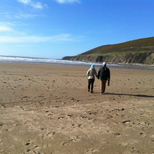 Explore the wonderful North Devon beaches all year round while on holiday at Bampfield Farm.