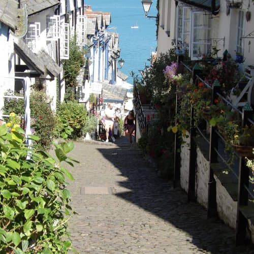 Explore Clovelly in North Devon while on Holiday at Bampfield Farm Self-Catering Cottages.