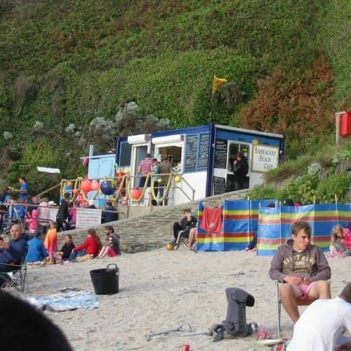 Enjoy beach days at Barricane Beach in North Devon while staying at Bampfield Farm.