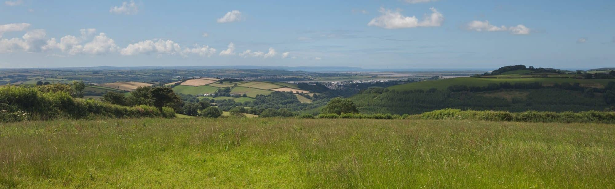 View from Bampfield Farm