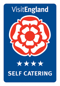 Bampfield Farm has been rewarded with a 4 star rating with Visit England.