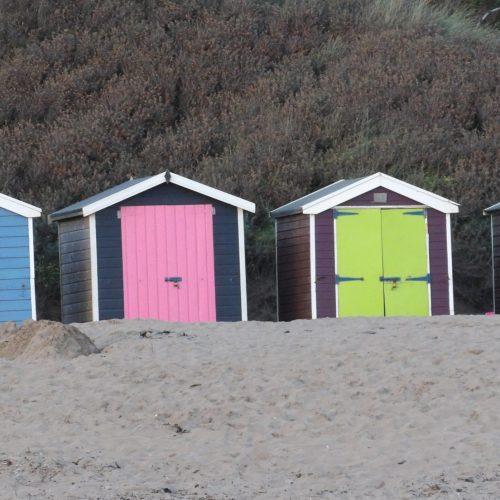 Beach Huts at Saunton Sands